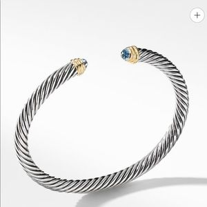 David Yurman Blue Topaz Bracelet